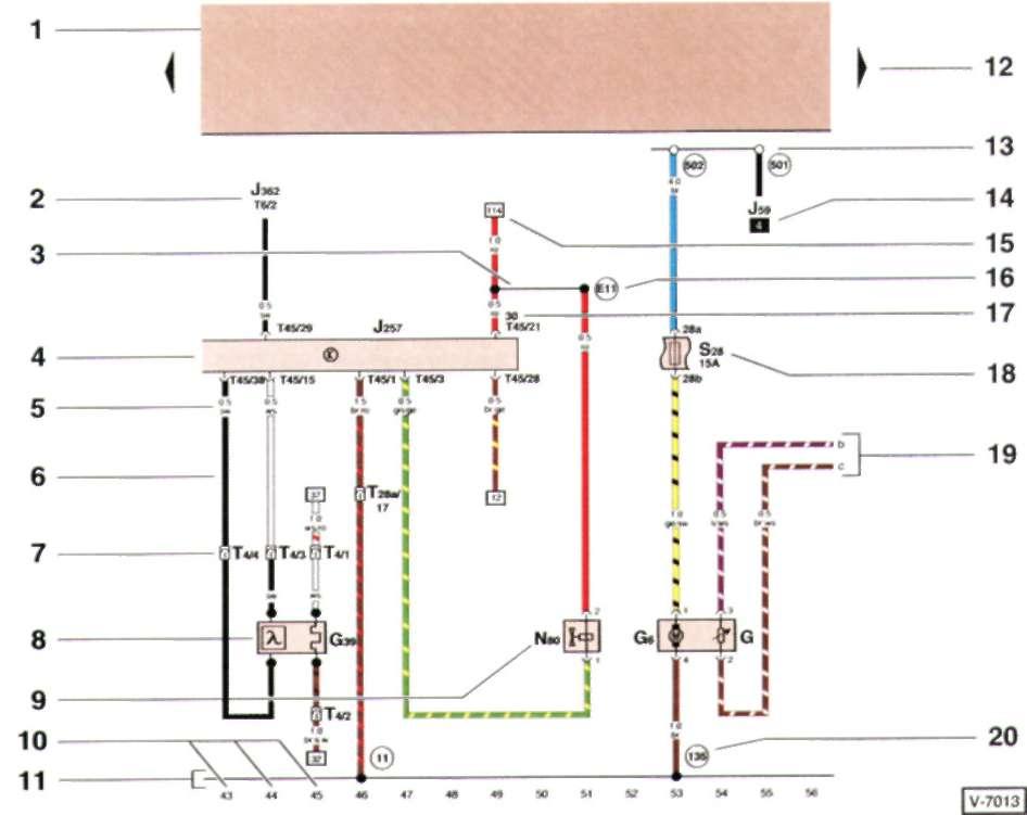 Мц схема электрическая